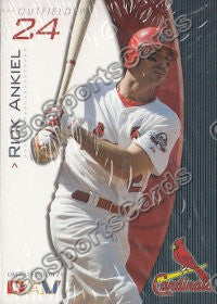 2009 St Louis Cardinals DAV Team Set