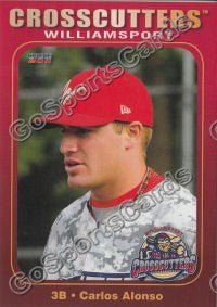 2011 Williamsport Crosscutters Carlos Alonso