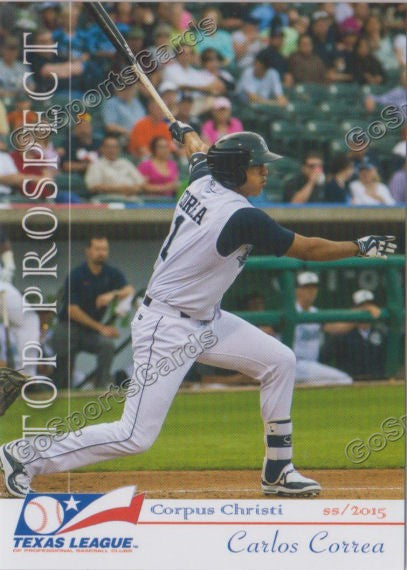 2015 Texas League Top Prospect Team Set