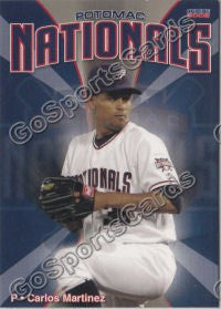 2008 Potomac Nationals Carlos Martinez