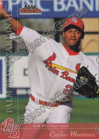 2012 Palm Beach Cardinals Team Set