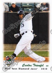 2010 West Tenn Diamond Jaxx Carlos Triunfel