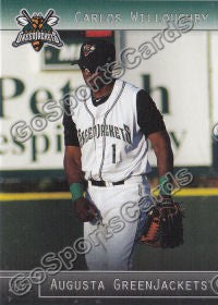 2012 Augusta GreenJackets Carlos Willoughby