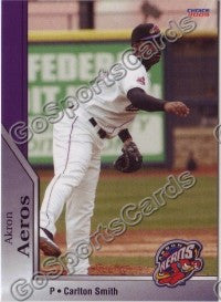 2009 Akron Aeros Carlton Smith