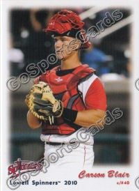 2010 Lowell Spinners Update Carson Blair