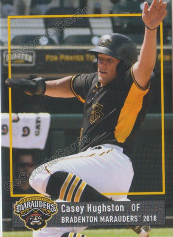 2018 Bradenton Marauders Casey Hughston