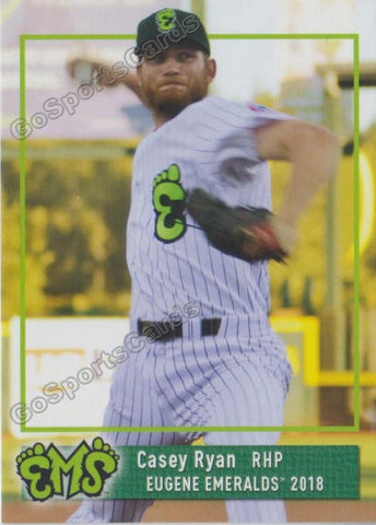 2018 Eugene Emeralds Casey Ryan