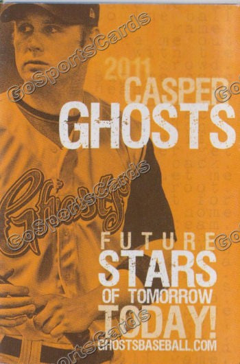 2011 Casper Ghosts Pocket Schedule