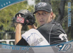 2008 Dunedin Blue Jays Chad Blackwell