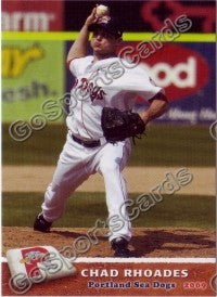 2009 Portland Sea Dogs Chad Rhoades