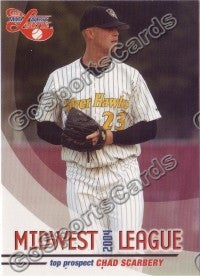 2004 Midwest League Top Prospects Chad Scarbery