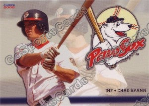 2008 Pawtucket Red Sox Chad Spann