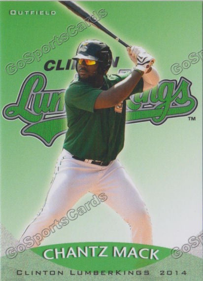 2014 Clinton Lumberkings Update Team Set