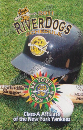 2011 Charleston Riverdogs Pocket Schedule