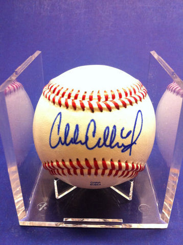 Charlie Culberson Signed Baseball Auto