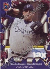 2006 International League All-Stars Choice Charlie Haeger