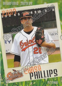 2009 Bluefield Orioles Chase Phillips