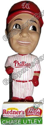 Chase Utley 2008 Reading Phillies BobbleHead SGA NIB