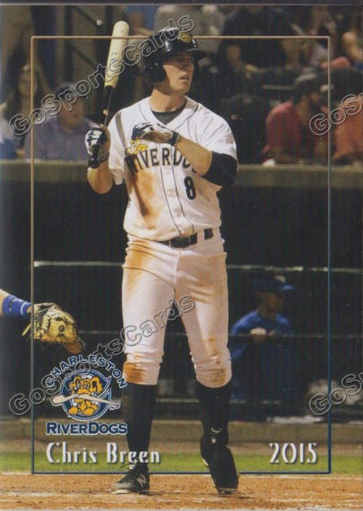 2015 Charleston Riverdogs Chris Breen