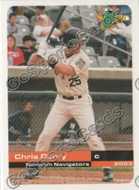 2003 Norwich Navigators Chris Curry