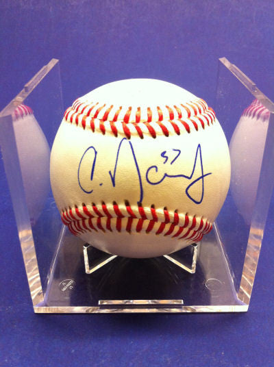 Chris Dominguez Signed Baseball Auto