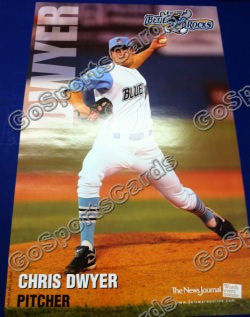 2010 Wilmington Blue Rocks Chris Dwyer Poster SGA