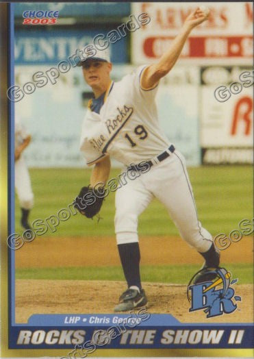 2003 Wilmington Blue Rocks Chris George