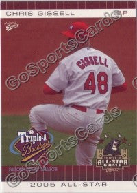 2005 Pacific Coast League All-Star Game Multi-Ad Chris Gissell