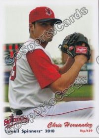 2010 Lowell Spinners Update Chris Hernandez
