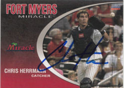 Chris Herrmann 2010 Fort Myers Miracle (Autograph)