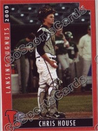 2009 Lansing Lugnuts Chris House