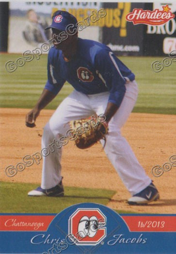 2013 Chattanooga Lookouts Chris Jacobs