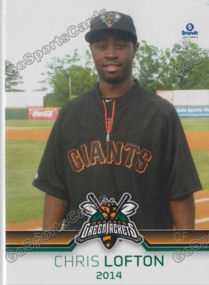 2014 Augusta Greenjackets Chris Lofton