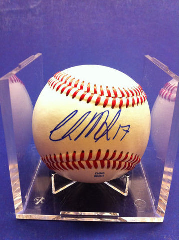 Chris Manno Signed Baseball Auto