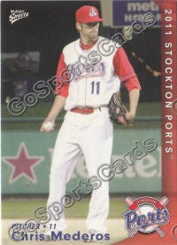 2011 Stockton Ports Chris Mederos