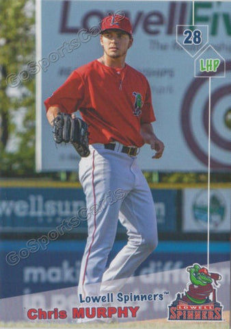 2019 Lowell Spinners Chris Murphy