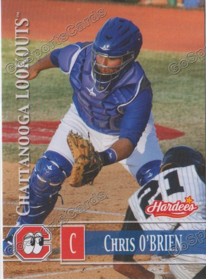 2014 Chattanooga Lookouts Chris O'Brien