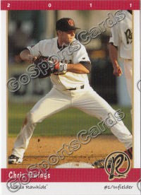 2011 Visalia Rawhide Chris Owings