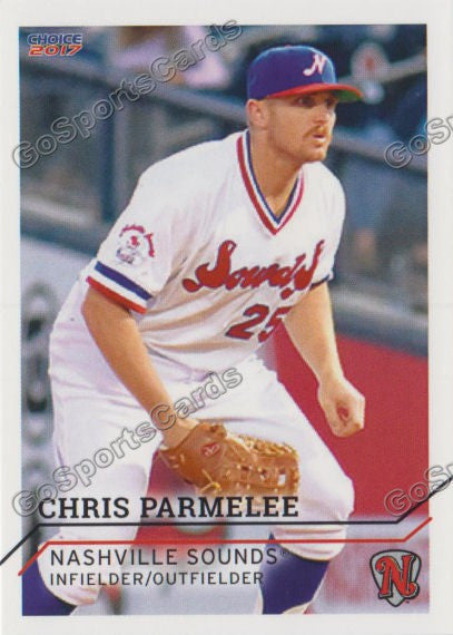 2017 Nashville Sounds Chris Parmelee
