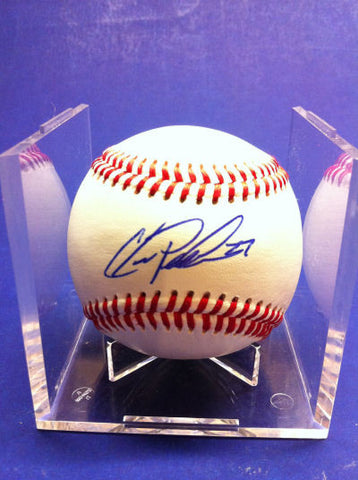 Chris Parmelee Signed Baseball Auto