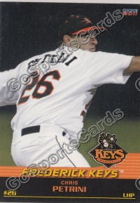 2011 Frederick Keys Chris Petrini