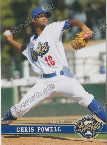 2017 Rancho Cucamonga Quakes Chris Powell