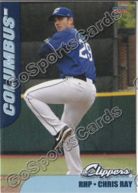 2012 Columbus Clippers Chris Ray