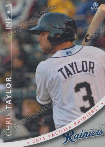 2014 Tacoma Rainiers Team Set
