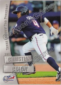 2011 Texas League Top Prospects Christian Colon