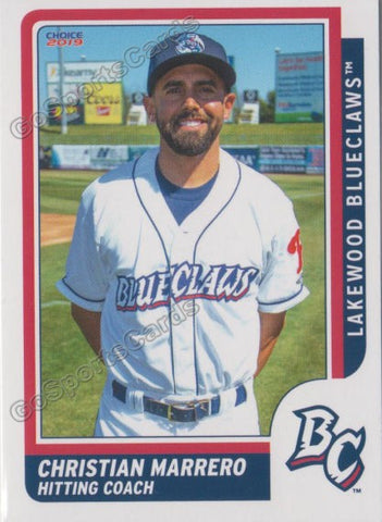 2019 Lakewood BlueClaws Christian Marrero