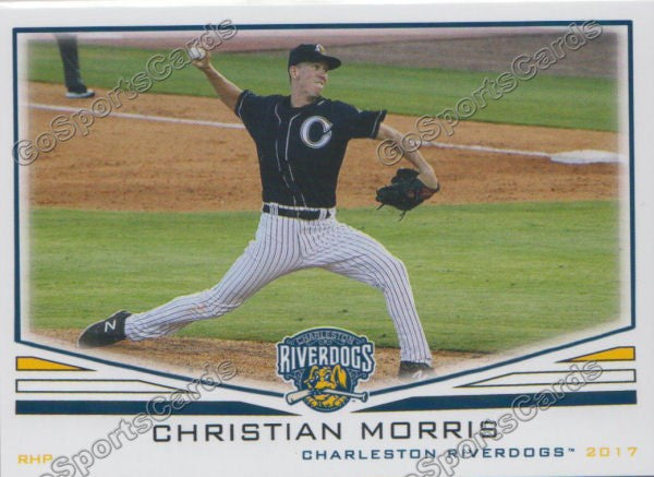 2017 Charleston RiverDogs Christian Morris