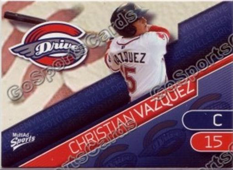 2010 Greenville Drive Team Set