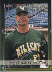 2008 Lynchburg Hillcats Chris Truby