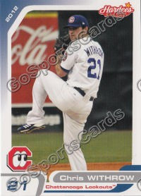2012 Chattanooga Lookouts Chris Withrow